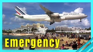 EMERGENCY AIRPLANE LANDING COMPILATION