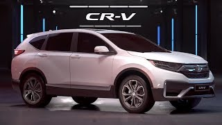 2020 HONDA CR-V Redesign - Family SUV! New Interior and Features