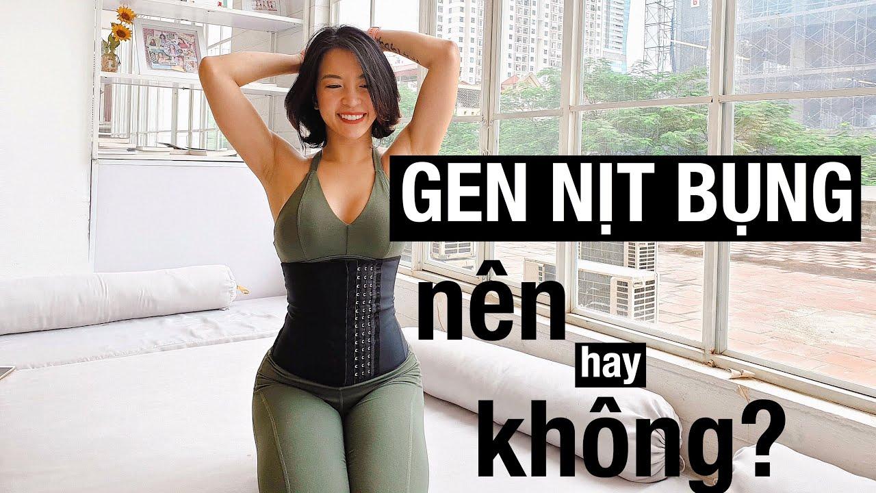 Beauty tips | Có nên dùng gen nịt bụng? ♡ Hana Giang Anh