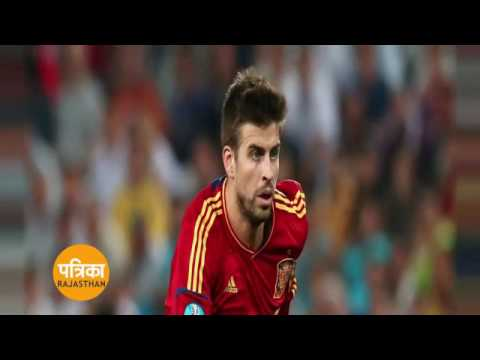 gerard pique end spain career after 2018 world cup