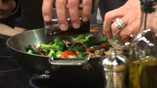 Lucy Danziger Makes Vegetable Lo Mein