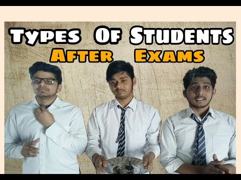 Types Of Students After Exams | I am Ush |