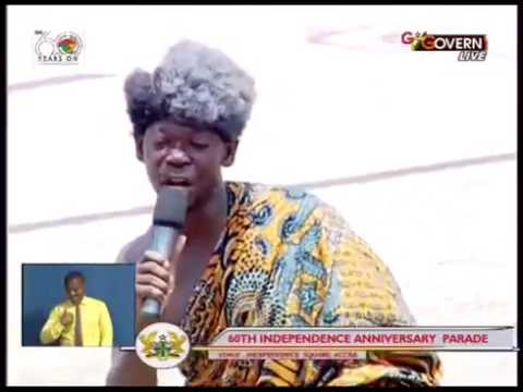 Agya Koo and Akrobeto Perform at Ghana@60 Independence Celebration