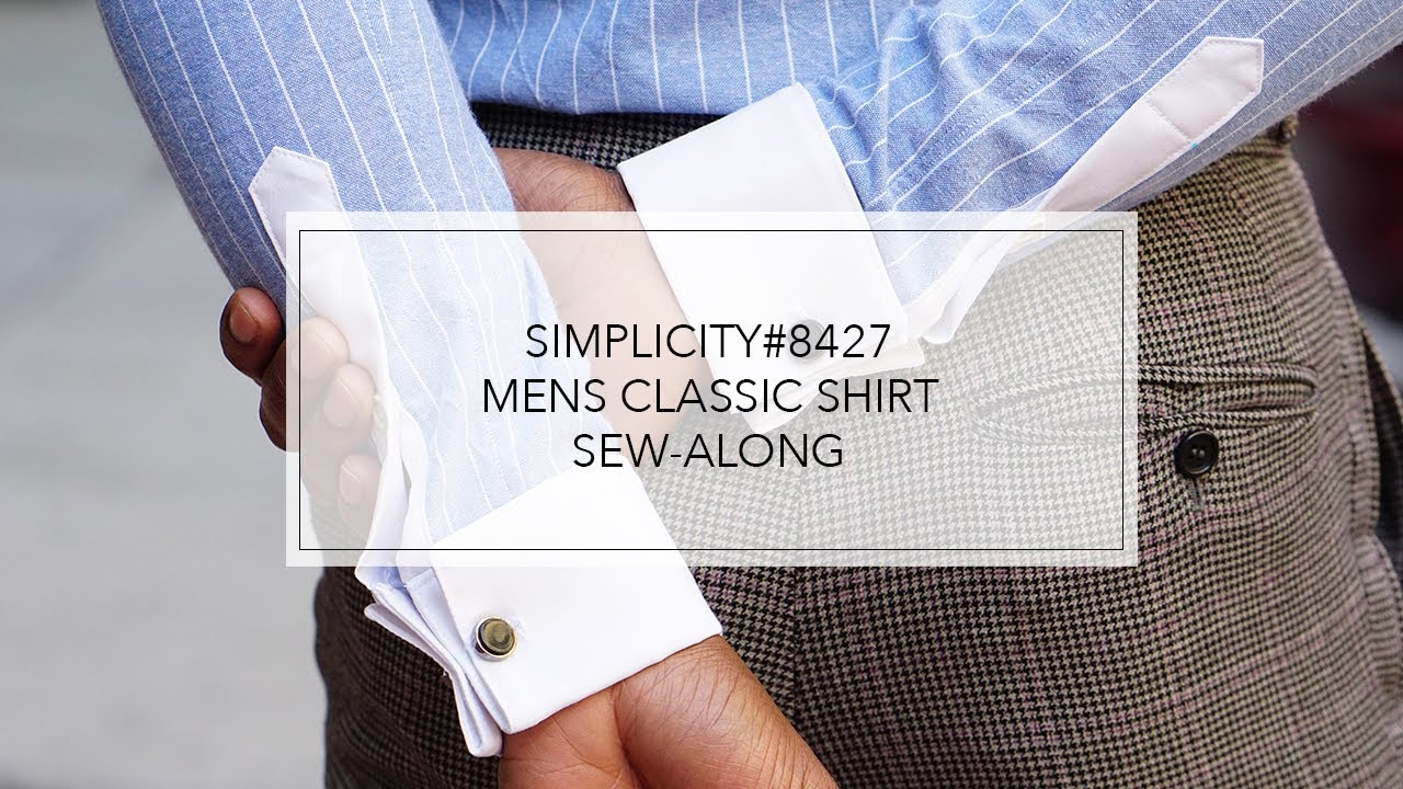 ea22b4f3d6d Tutorial for Men s Fitted Shirt by Mimi G with Simplicity Pattern 8427