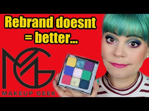 First Time Trying Makeup Geek... And Im Not Impressed...  😒