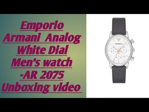 Emporion Armani AR2075 Men's Watch (TELUGU)