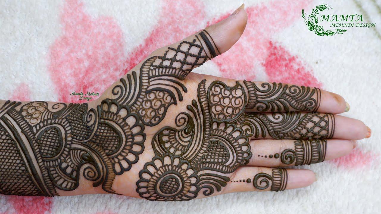 Beautiful Front Hand Mehndi Design 2020   Simple Mehndi   Easy Mehndi   Mamta Mehndi Design