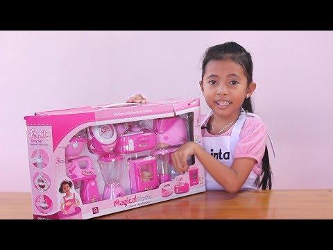 Unboxing Mainan Anak Kitchen Set Toys for Kids - Mainan Anak Perempuan - Masak Masakan