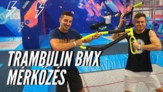 GAME OF TRAMP - ÉLETVESZÉLYES TRAMBULIN BMX #KIHÍVÁS NAGY DANIVAL !!