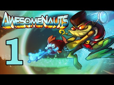 Let's Play - Froggy G [Awesomenauts Gameplay]