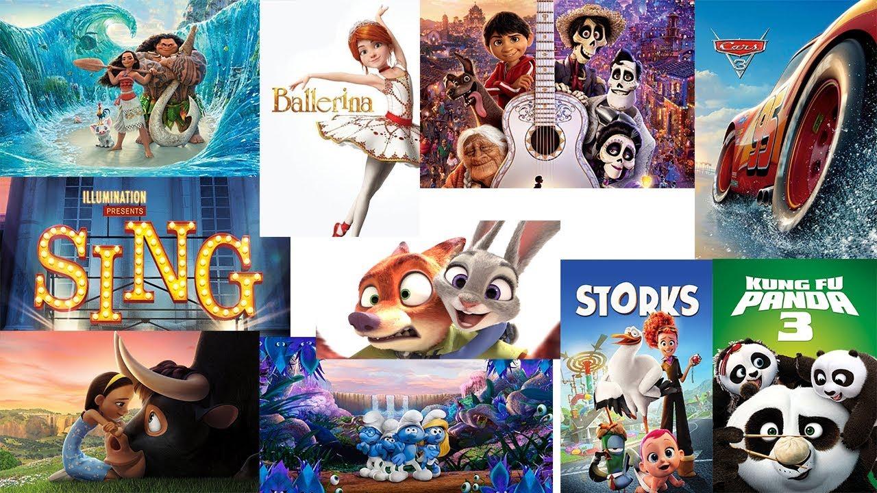 افضل افلام كرتون 2018