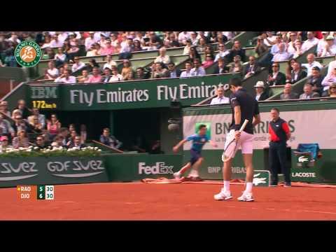 Roland Garros 2014 Tuesday Highlights Djokovic Raonic