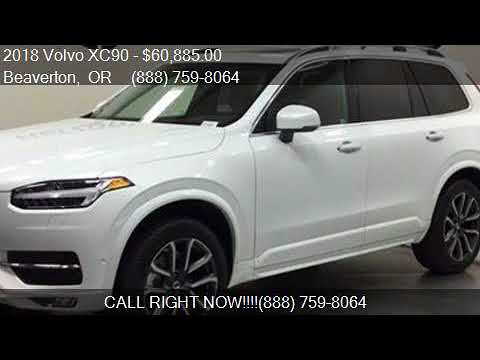 2018 Volvo XC90 T6 Momentum AWD 4dr SUV for sale in Beaverto