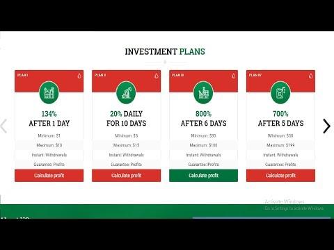 DUBAI PETRO LTD - NEW HIGH PAYING BITCOIN INVESTMENT SITE !! Profit Coin !! (2019)