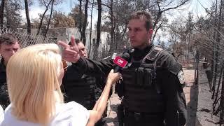 Αστυνομικοί της ΔΙ.ΑΣ. περιγράφουν τον εφιάλτη στην ανατολική Αττική