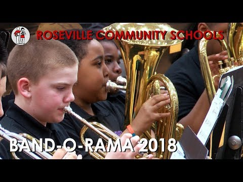 Roseville Community Schools Band-O-Rama 2018