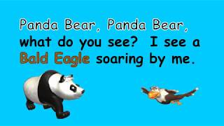 panda bear panda bear what do you see   read aloud story