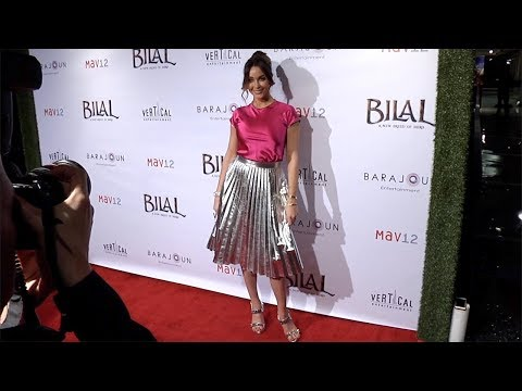 Courtney Sixx 'BILAL: A New Breed of Hero' Los Angeles Premiere