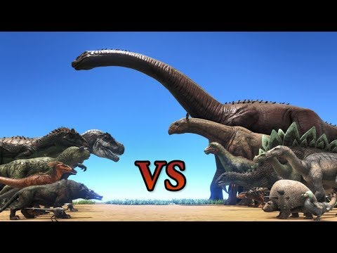 Carnivores vs Herbivores! || Cantex || ARK: Survival Evolved