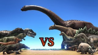 Carnivores vs Herbivores! || Cantex || ARK: Survival Evolved