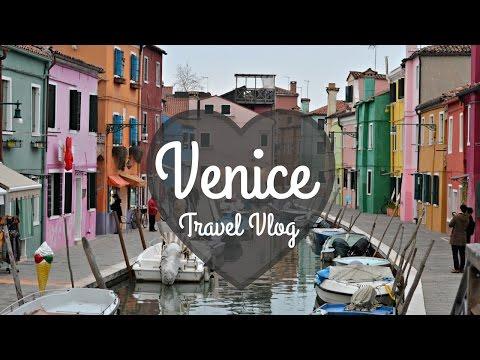 VENICE, ITALY: Travel Vlog | Budget Travel