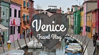 VENICE, ITALY: Travel Vlog   Budget Travel