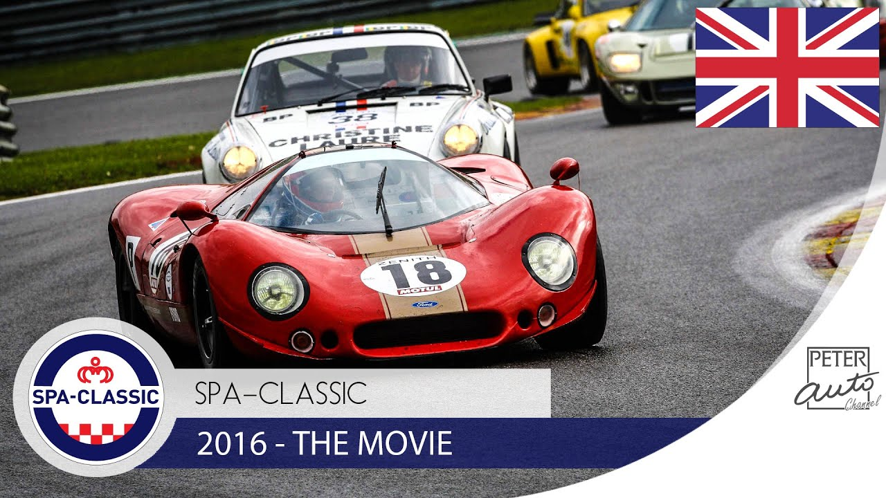 Spa Classic Classic Historic Racing Youtube