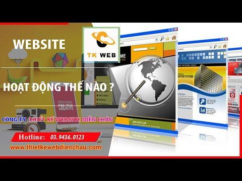 WEBSITE HOẠT DỘNG NHƯ THẾ NÀO