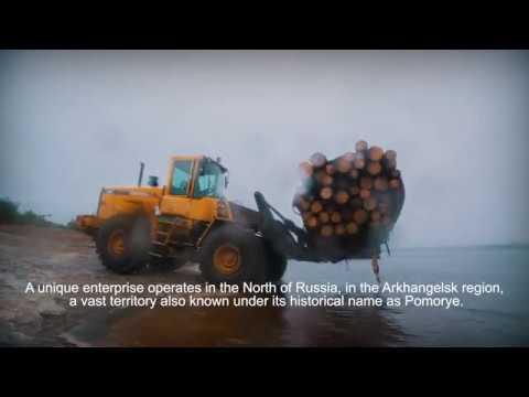 """Customer Testimonial: Timber rafting (""""Arkhspav"""", Arkhangelsk region) Eng subtitles"""