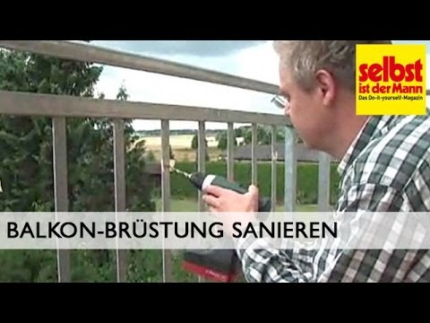 balkon br stung aus plexiglas montieren youtube. Black Bedroom Furniture Sets. Home Design Ideas