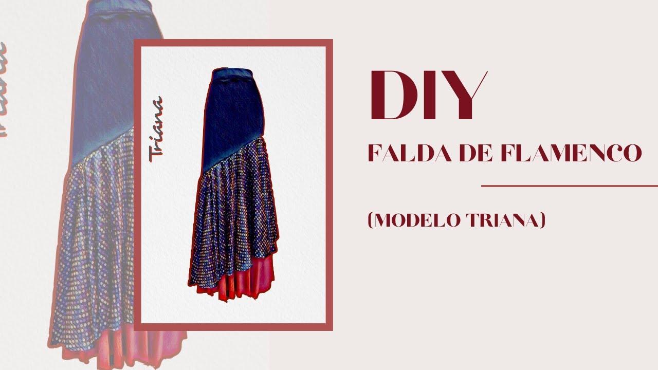 d15983949 Tutorial Falda Triana. Como hacer una falda flamenca fácil / How to make a  Flamenco Skirt Very Easy