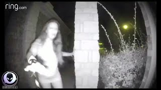 Some VERY Unsettling Doorbell Footage