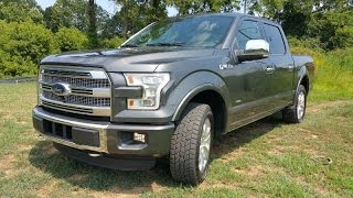 2015 ford f 150 platinum supercrew 4wd walkaround for Mercedes benz of arrowhead reviews