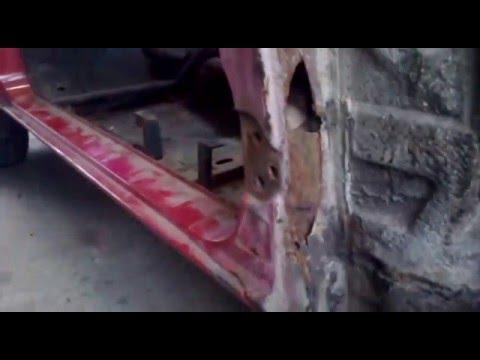 сварка кузова ford sierra