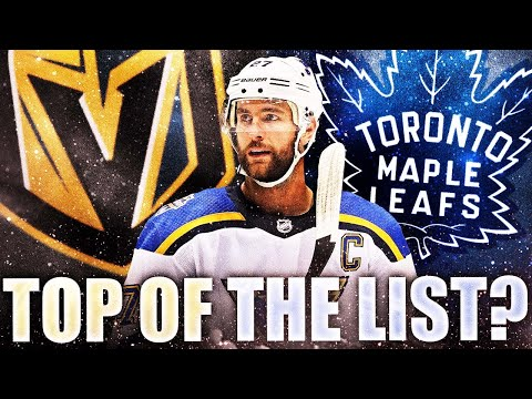 Alex Pietrangelo DISAPPOINTED In Blues Negotiations? VGK & Leafs At The TOP Of His List? NHL Rumours