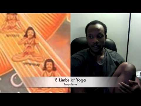 8 limbs of yoga - pratyahara (sense withdrawal)