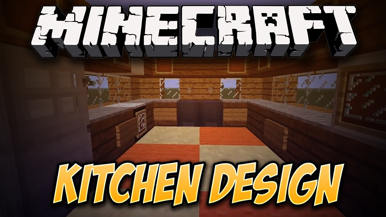 How to make a Simple Kitchen Design in Minecraft! - YouTube