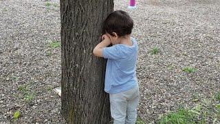 Berat Ve Buğra Saklambaç Oynadı Hide and Seek. Eğlenceli Çocuk Videosu