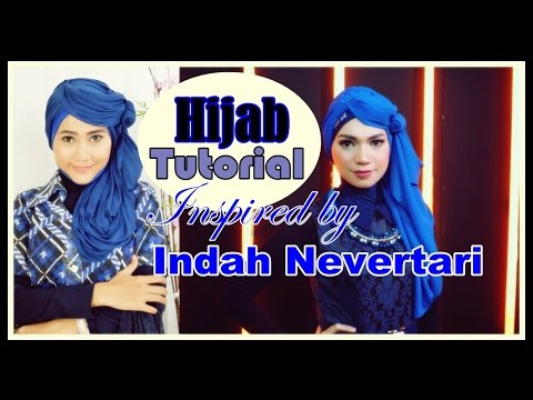 Tutorial Hijab Pashmina (Shawl) Inspired by Indah Nevertari Rising ... 35fce26428