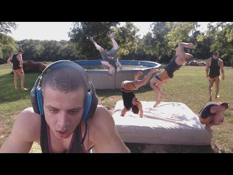 LEARNING HOW TO BACKFLIP ON STREAM