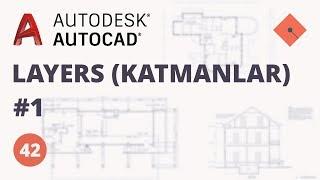 Yakın Kampüs - AutoCAD Ders 42 - Layers (Katmanlar) - 1