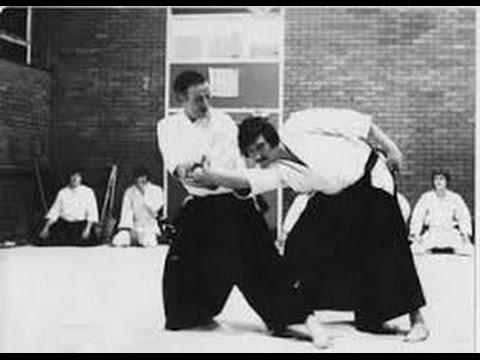 Henry Ellis Shihan UK - uke Al Montemar  Sensei USA - New Mexico USA 1994 - 7