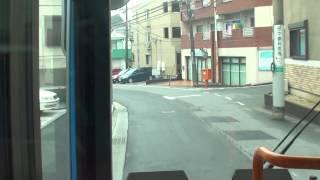 川崎市バス 生02 生田駅→鷲ヶ峰営業所 【前面展望】