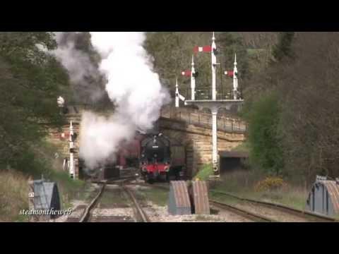 North Yorkshire Moors Railway Spring Gala 020514