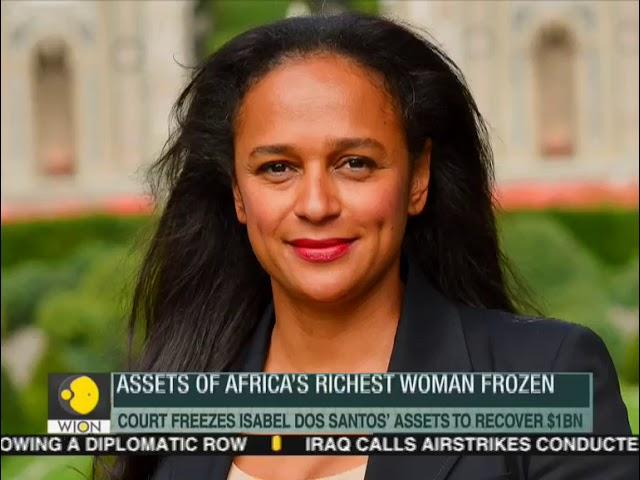 Fineprint: Angolan court freezes assets of Africa's richest woman