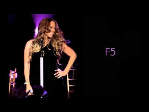 Mariah Carey Remixes: Vocal Range: G#2-F7
