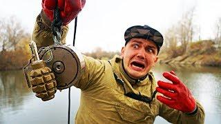 Это самая опасная жуткая находка за все время магнитной рыбалки