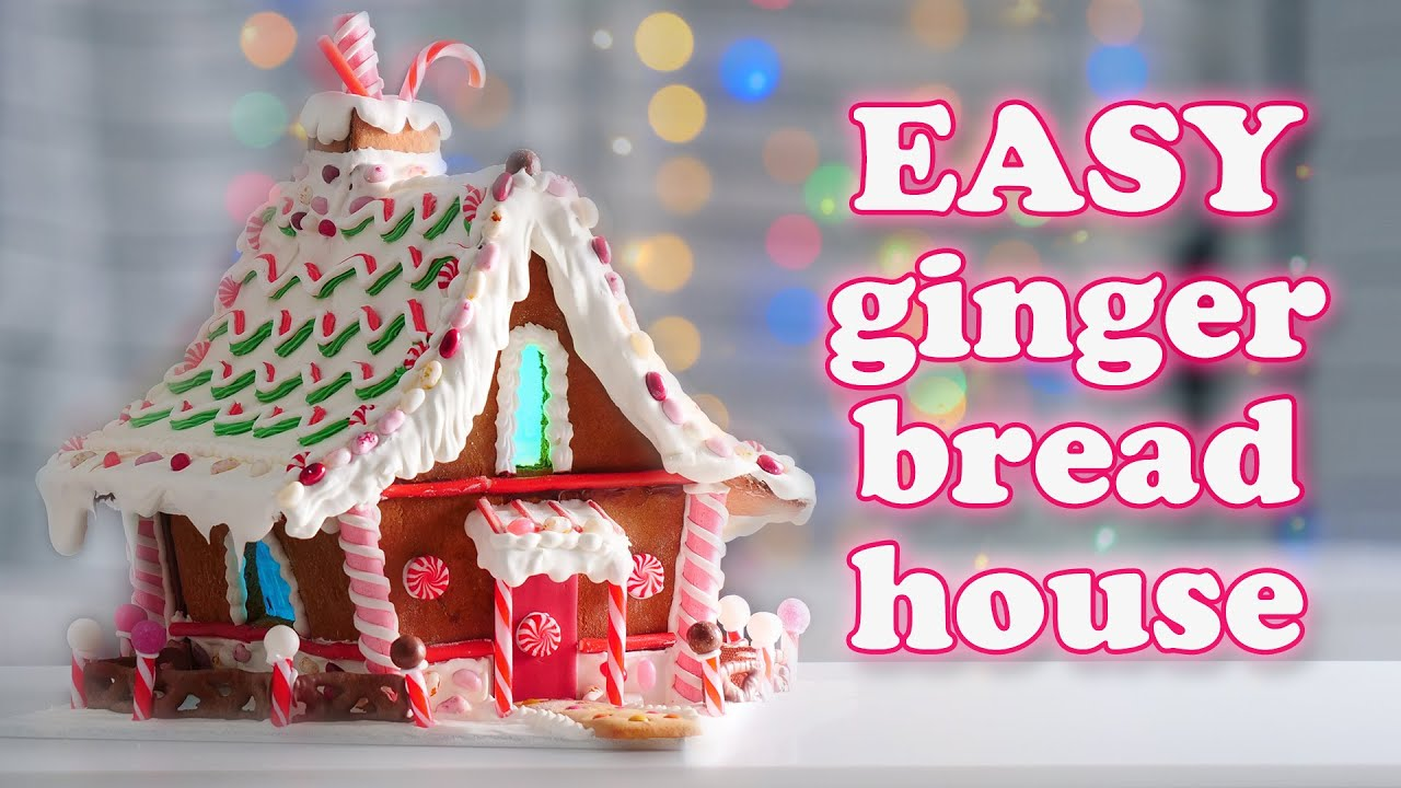 Gingerbread House Recipe Tutorial & Christmas Street Talk | How To Cook That Ann Reardon