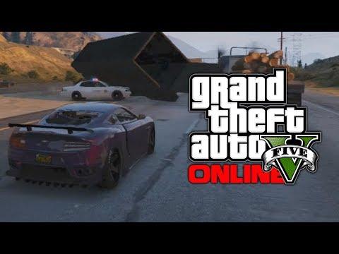 GTA 5 Online Funny Moments & Heist Prep...