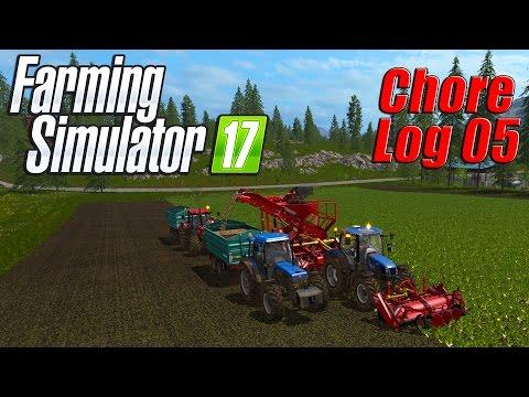 Farming Simulator 17: Chore Log 5 - Sugar Beet Harvest!
